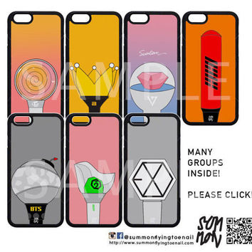 KPop Lightstick Phonecase (Iphone/Android Phone)(Many Groups available!)