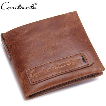Wallet Men Leather Bags Multi-function Purse [9026424771]