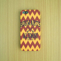 Chevron Hogwarts Alumni iPhone Case Harry Potter iPhone Case iPhone 5S iPhone 5 iPhone 5C Samsung Galaxy S4 iPhone plastic case iPhone case