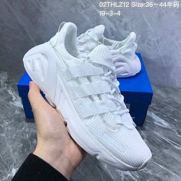 hcxx A689 Adidas Yeezy Boost 600 Knit Breathable Mesh Sports Casual Running Shoes White