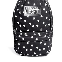 Converse Mini Backpack in All Over Heart Print