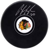 Brandon Saad Chicago Blackhawks Fanatics Authentic Autographed Hockey Puck