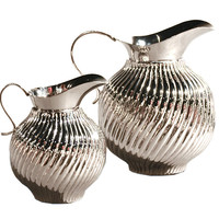 Dessau Home Nickel Swirl Pitcher - St322