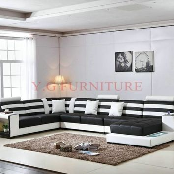 Stylish Luxury Sectional Leather Sofa