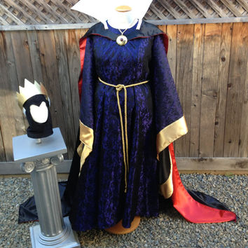 Evil Queen Snow White Villain Classic Park Version Dress Custom Made Adult