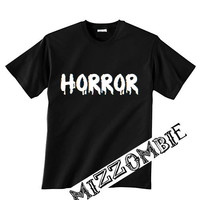 HORROR  UNISEX crew neck t-shirt