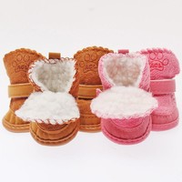 Cotton Blend Rubber Dog Shoes & Cat Shoes