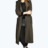 Amelia Fluid Trench Coat
