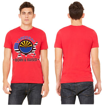 Arizona born and raised T-shirt