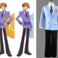 Male School Uniform Costume from Ouran High School Host Club