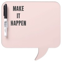 Pink Inspirational Make It Happen