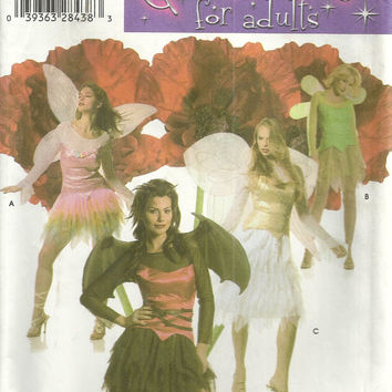 Women's Costume Pattern Simplicity 4902 Cosplay, Bat, Fairy, Tinkerbell
