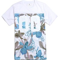 On The Byas Gabe Mesh Pieced Jersey - Mens Tee - White