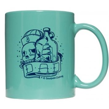 Sailor Dad Mug by Sourpuss (Green)