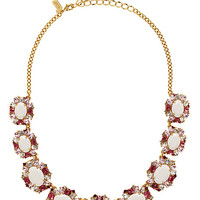 Kate Spade Garden Bed Gems Collar Necklace Pink Multi ONE