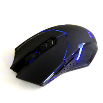Professional 2000DPI 2.4G Wireless Gaming Game Mouse Mice PC Laptop (Color: Black) = 1753275012