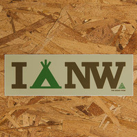 I Camp NW Sticker | The Great PNW