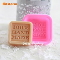 Multifunctional 100% Hand Made Silicone Soap Mold DIY Fondant Cake Decorating Tools Silicon Mould