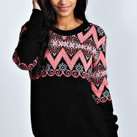 Ella Patterned Jumper