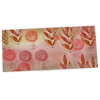 "Marianna Tankelevich ""Summer Music"" Red Orange Desk Mat"