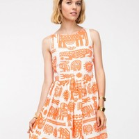 Topshop / Animal Ladder Back Dress