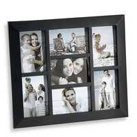 7-Opening Collage Frame in Black