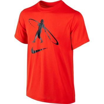 Nike Boys' Swingman Legend Short Sleeve Baseball Shirt - Dick's Sporting Goods
