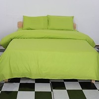 Deconovo® Bedding Queen 4pc Bed Sheet Set Soft Microfiber 1500 Thread Count Egyptian Quality - Green
