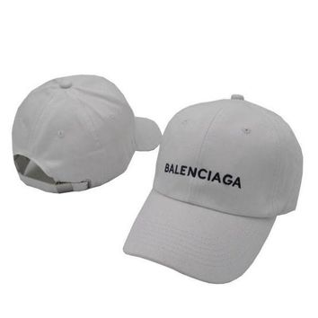 ONETOW white balenciaga embroidered embroidered outdoor baseball cap hats 2
