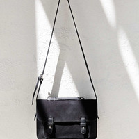 BDG Medium Suede Messenger Bag - Urban Outfitters