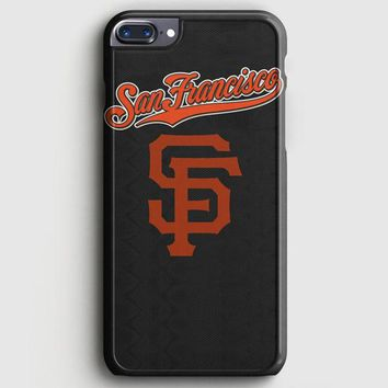 San Francisco Giant Black iPhone 8 Plus Case | casescraft