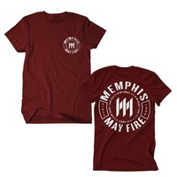 In My Bones Maroon : MMF0 : Memphis May Fire