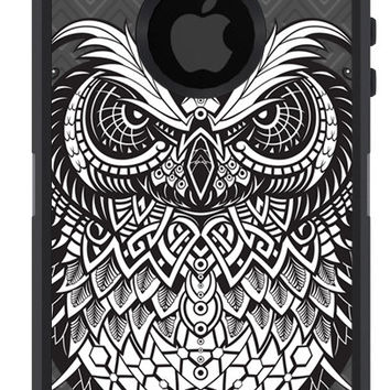 OTTERBOX DEFENDER iPhone 5 5S 5C 4/4S iPod Touch 5G Case Custom Owl Graphic Grunge Fashion Series