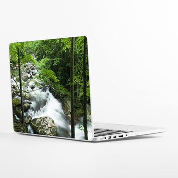 Little River Smoky Mountains Laptop Skin