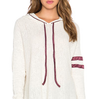 Love All Hoodie in Ivory Combo