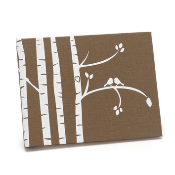 Hortense B. Hewitt Guest Book Wedding Accessories Birch Trees
