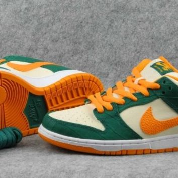 Nike Dunk Low Pro SB Legion Pine Kumquat Flat Opal  Sneakers