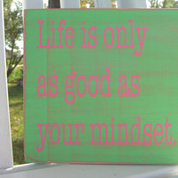 Graduation Gift/Sorority Decor/Dorm Room Decor/Big Little Sorority/Life Quotes/Motivational Sign/Positive Quote/Wood Signs/Signs About Life/