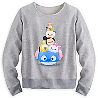 Disney ''Tsum-Tsum'' Long Sleeve Pullover Top for Women