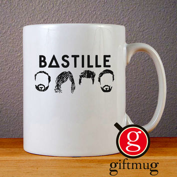 Bastille Logo Icon Ceramic Coffee Mugs
