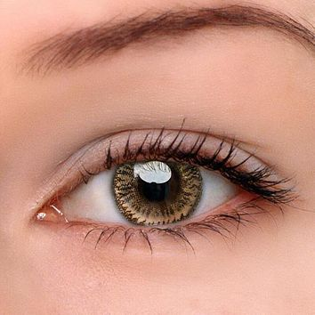 EyeDream® Eye Circle Lens Dodo Brown Colored Contact Lenses