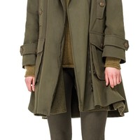 Water Repellent Wool Lined Raincoat by Leon Max | Max Studio Official