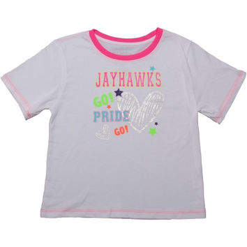 Best cheer shirts for girls products on wanelo for Funny kansas jayhawks t shirts