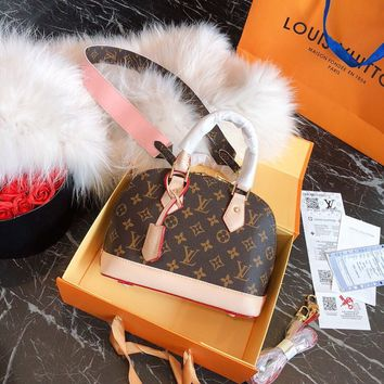 Louis Vuitton LV Monogram Top Handles ALMA BB