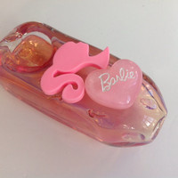 Pink Heart Glass Tobacco Pipe