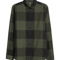 H&M Flannel Shirt Regular fit $9.99
