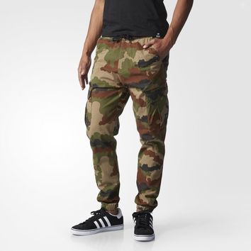 adidas Cuffed Printed Cargo Pants - Multicolor | adidas US