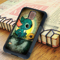 lilo and stitch lilo Cartoon stitch Disney stained glasses | For Samsung Galaxy S6 Cases | Free Shipping | AH0589