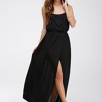 Racerback Chiffon Maxi Dress
