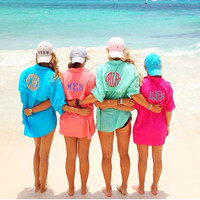 Women's Monogrammed Fishing Shirt